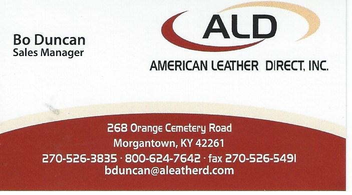 American Leather Direct Bo Duncan