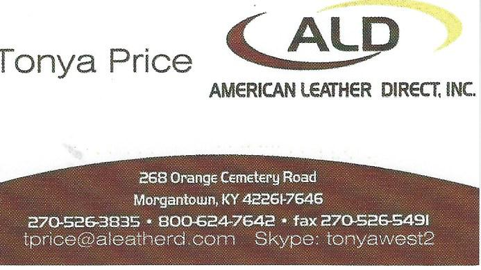 American Leather Direct Tonya Price