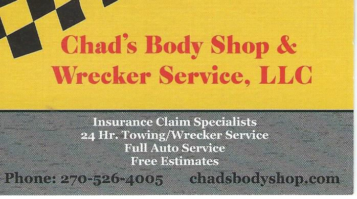 Chad's Body Shop 2