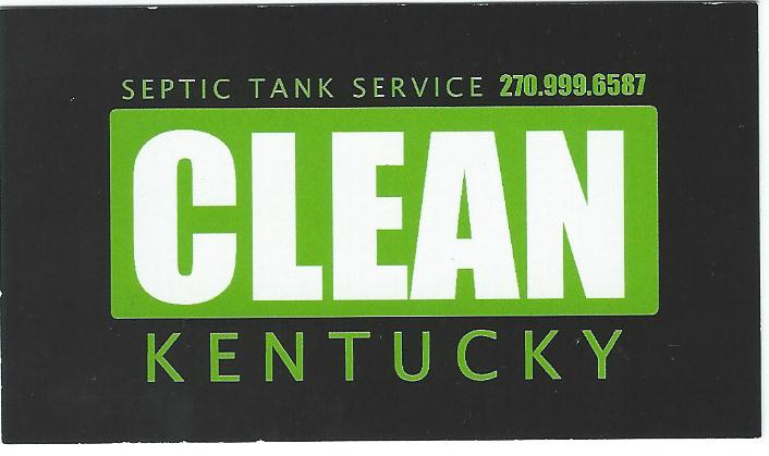 Clean Kentucky Septic Tank Service