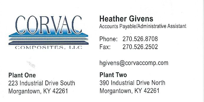 Corvac Heather Givens
