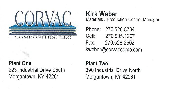 Corvac Kirk Weber