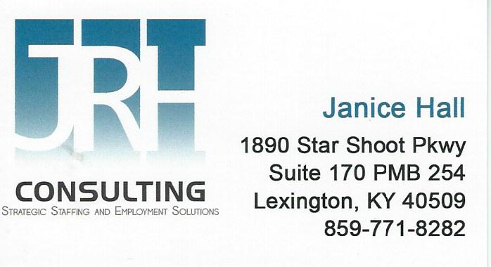 DSSA Janice Hall Consulting