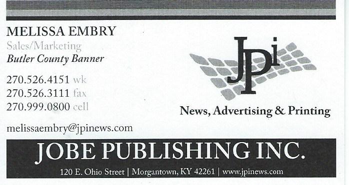 Jobe Publishing Melissa Embry