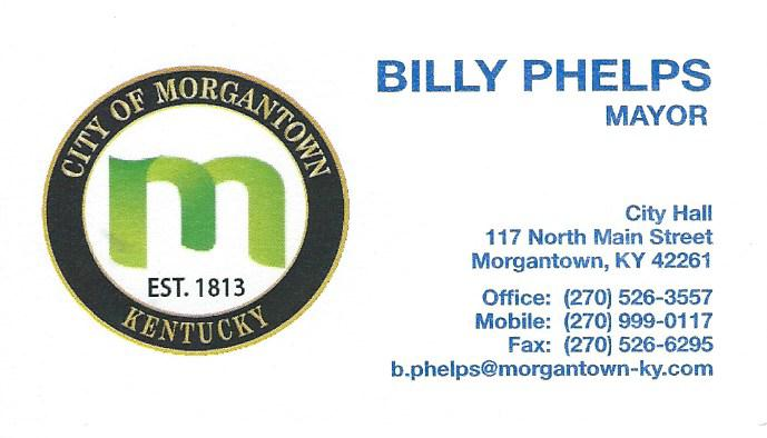 Mayor Billy Phelps