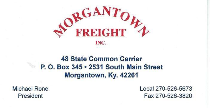 Morgantown Freight 2