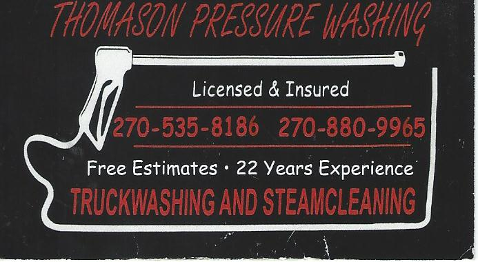 Thomason Pressure Washing