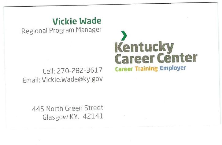 Vickie Wade Kentucky Career Center