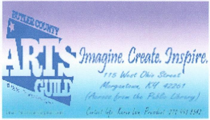 arts guild business card